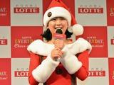 浅田真央、サンタ衣装で点灯式!休養宣言を経て「やっぱりスケートが好き」 画像