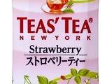 ニューヨークスタイルのストロベリー味「TEAS' TEAストロベリーティー」登場 画像