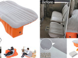 ドッペルギャンガー、後部座席がフラットなベッドになるマット発売 画像