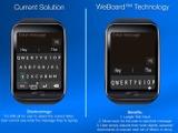 手首を動かして文字を入力!Apple Watch用キーボード「WeBoard」…米サンディエゴ発 画像