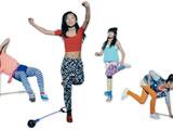 まわして、跳んで、ダンスする…進化形なわとび「ステッピー」 画像