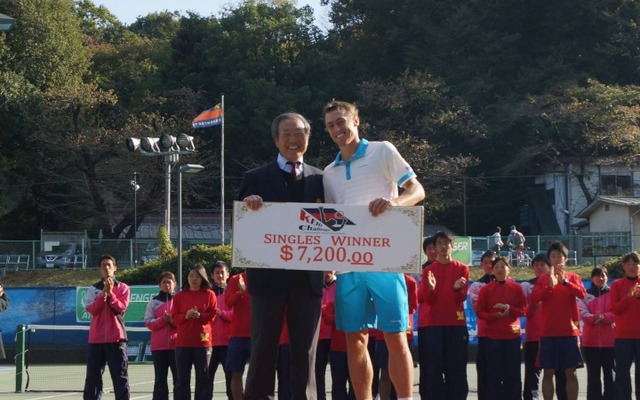 「国際テニス大会を開催したい! 」プロジェクト…クラウドファンディングで運営資金を募集