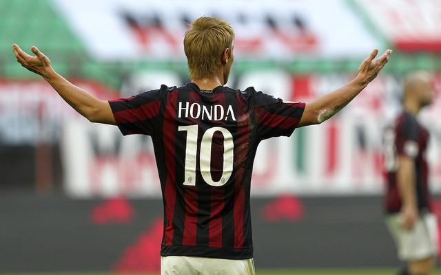 本田がイタリアメディアで絶賛の嵐!昨季の屈辱を覆す