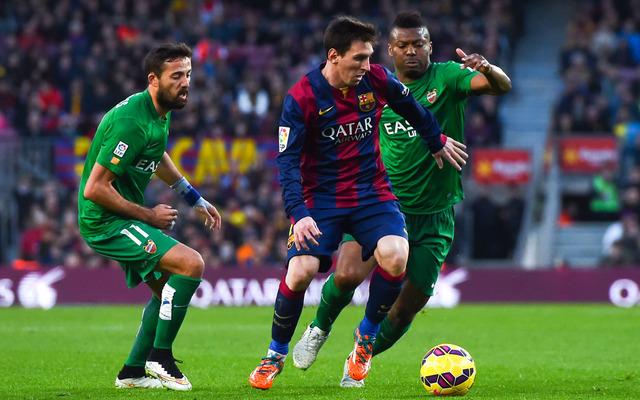 【リーガ・エスパニョーラ】メッシが300試合出場を自ら祝うハットトリック…試合もバルセロナが快勝