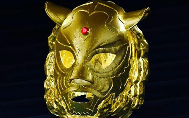 純金5キロ使用!初代タイガーマスクの純金マスク…限定1個、価格は6000... 【プロレス】純金