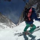 直登からほぼ落下、美しく危険な山の風景 SCOTT動画 画像