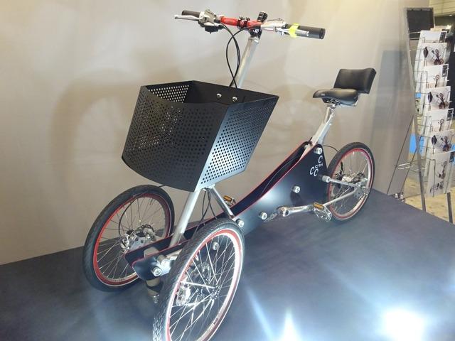 全天候対応型三輪自転車、斬新 ...