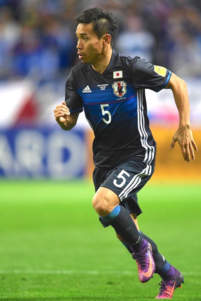 サッカー日本代表の長友佑都 参考画像(2016年11月15日)