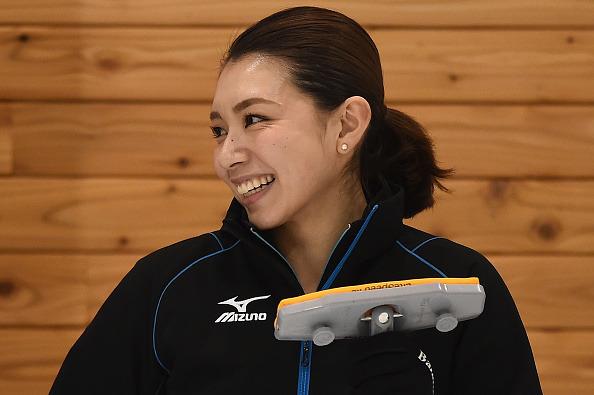 本橋麻里選手(2017年2月22日)