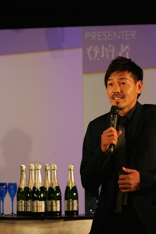 シャンパーニュ・テタンジェというFIFA公式シャンパンが催したトークショー