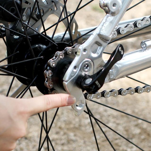 ... 折り畳み自転車のカスタマイズ